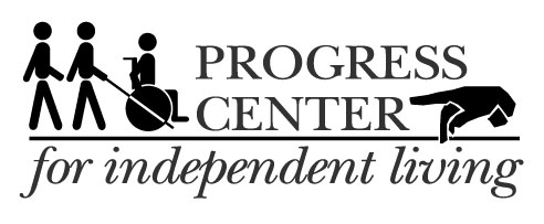 image of progress center website