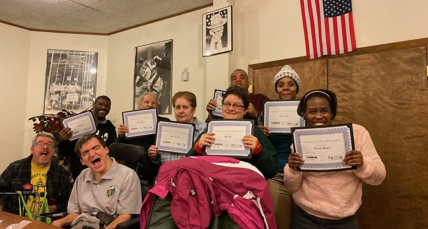 Image of participants who graduated from the Progress Center Fall 2019 Legislative Course